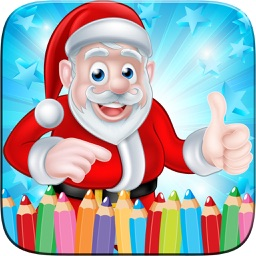 Christmast Coloring Book Drawing for Kid Games