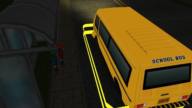 School Bus 3D Free screenshot-4
