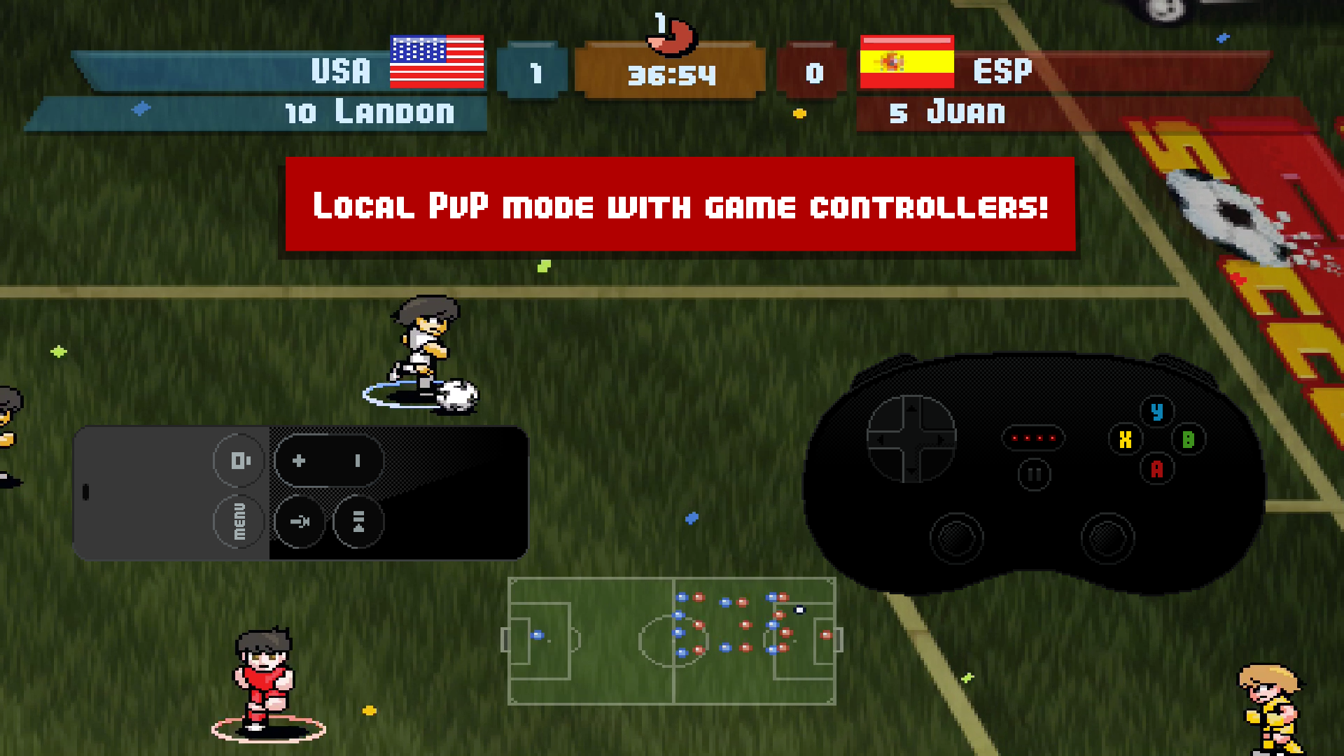 Pixel Cup Soccer screenshot 13