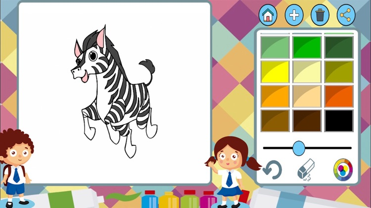 Animals to paint - coloring book to draw screenshot-3