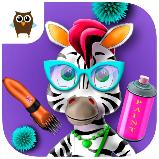 Zoo Hair Salon – Super Cute Zoo Animal Stylist