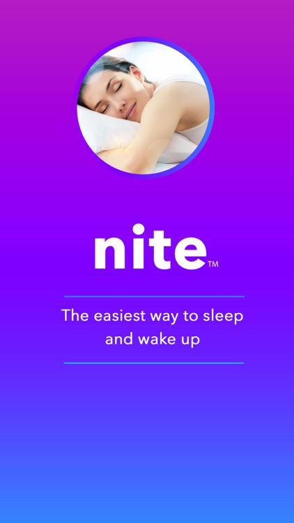 Nite: Sleep Aid, Smart Alarm