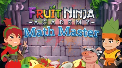 Fruit Ninja Academy: Math Master Screenshot on iOS