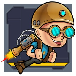Jarvis jetpack adventure - A free joyous ride of spaceman called Jarvis by John Oirdo