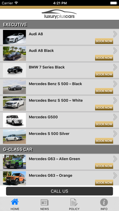 Luxury Plus Cars screenshot one