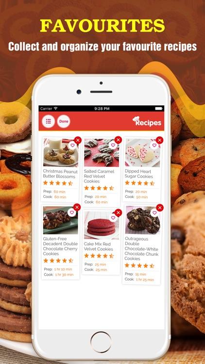 2000+ Cookie Recipes screenshot-3