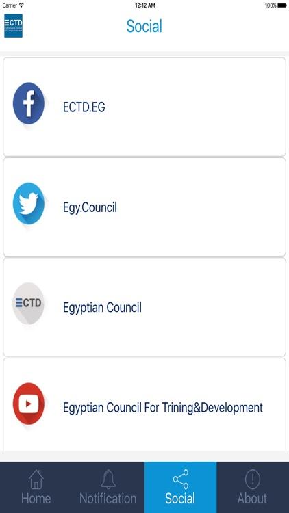 Egyptian Council for Training screenshot-3