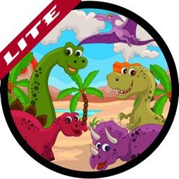 Learn English Via Dinosaur Jurassic Era Names Games for Kids (lite)