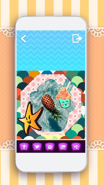 Kawaii Photo Stickers Studio – Cute Camera Edit.or with Text on Pic Effects for Picture.s screenshot-3