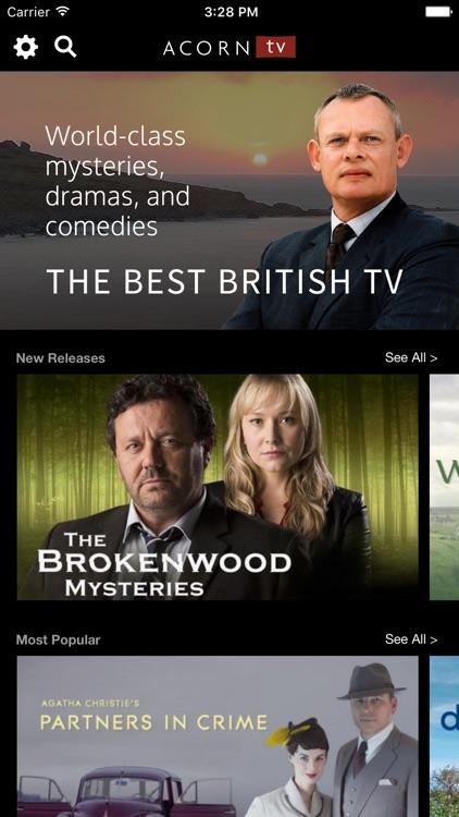 Acorn TV - The Best British TV screenshot-0