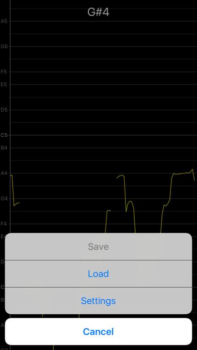 Vocal Pitch Monitor screenshot four