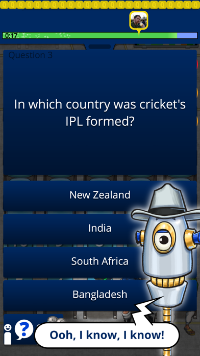 QuizTix: International Cricket screenshot two