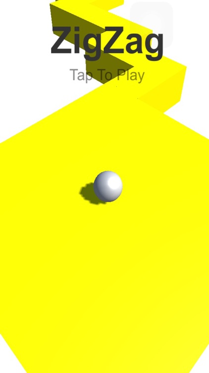Zig Zag pullze game  : run ball in skye