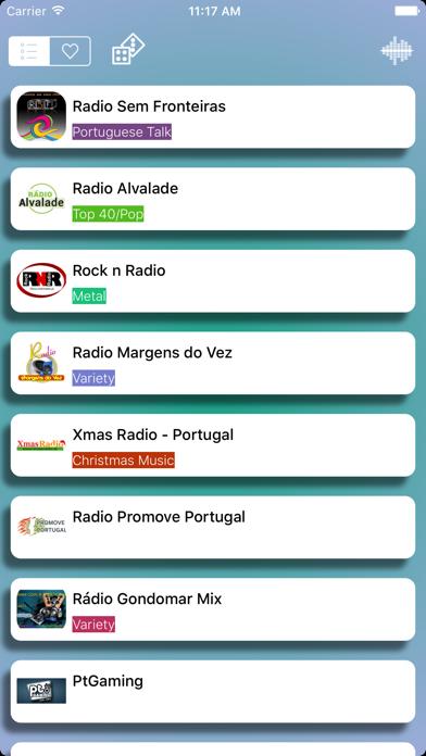 Rádios - O melhor de rádio Português - Simples, rápido e gratuito screenshot three