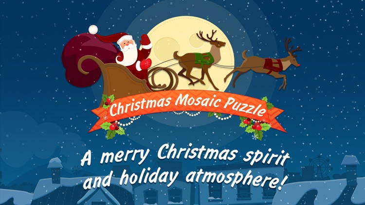 Christmas Mosaic Puzzle by 8Floor