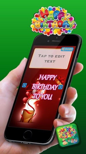 Happy birthday card maker cute love messages best wishes and iphone ipad bookmarktalkfo Image collections