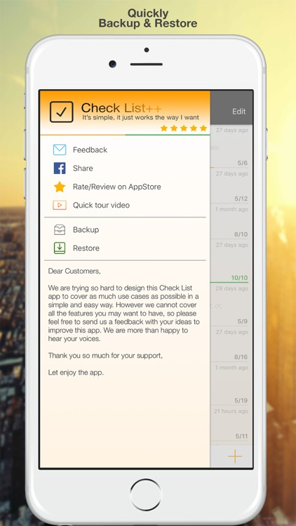 Check List++ : To-do & Task List | Task Manager screenshot-4