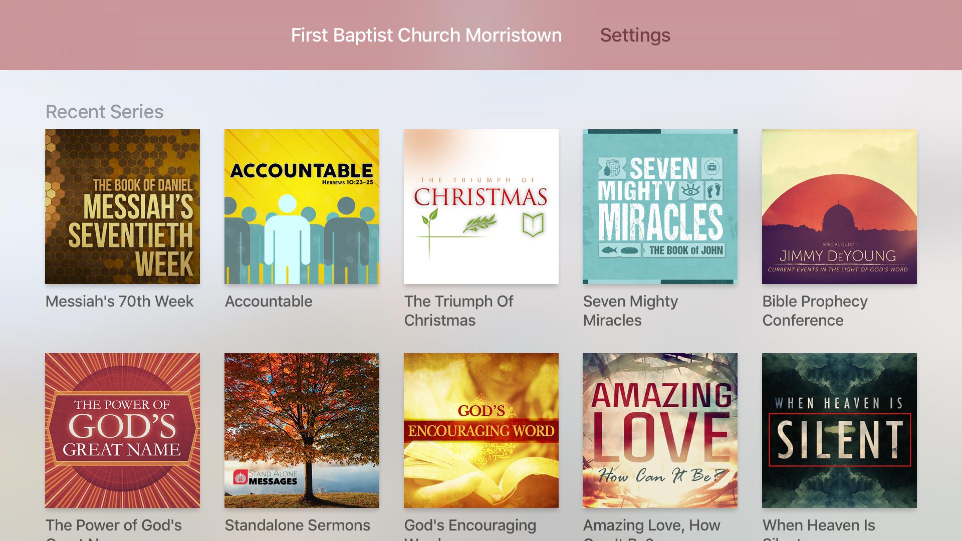 First Baptist Morristown TN screenshot 7