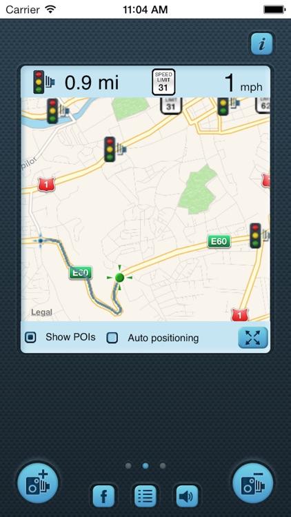 i SpeedCam USA (Speed Camera Detector with GPS Tracking) screenshot-3