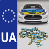 The base index number plates of Ukraine