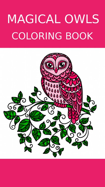 Owl Coloring Book For Adults: Free Fun Adult Coloring Pages - Relaxation Anxiety Stress Relief Color Therapy Games