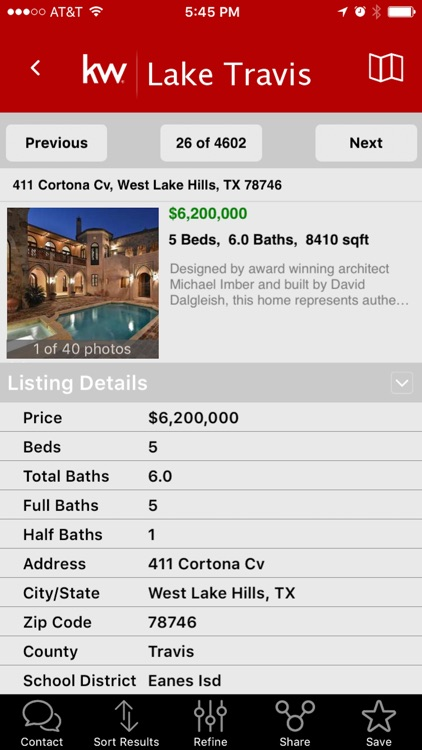 Keller Williams Realty Real Estate Search screenshot-3