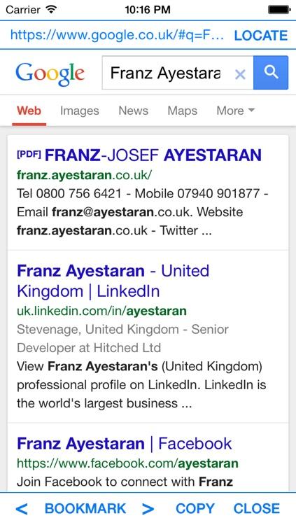 iWebSearch
