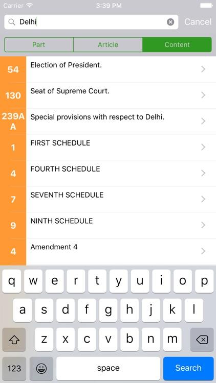 Constitution of India - iConstitution screenshot-3
