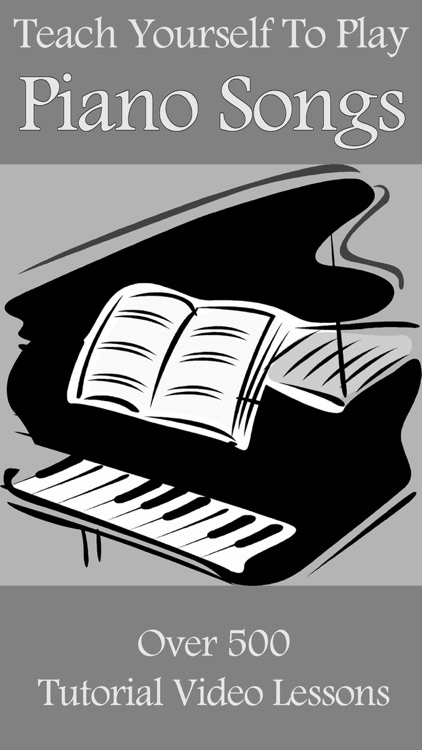 Teach Yourself To Play Piano Songs by Tony Walsh