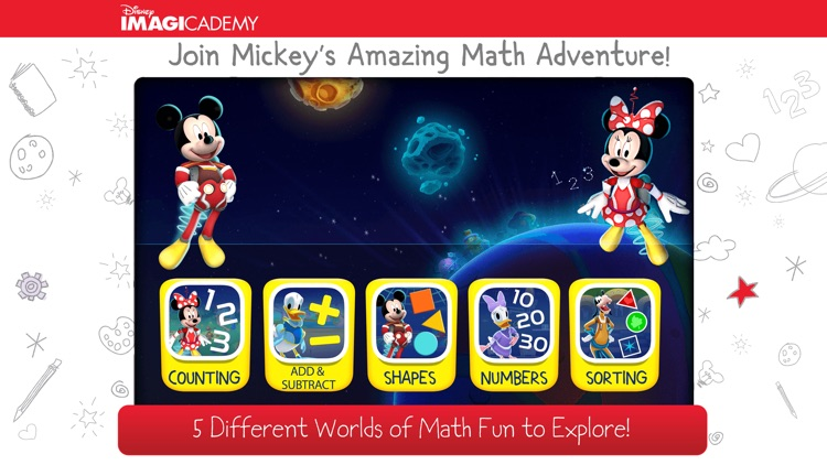 Mickey's Magical Math World screenshot-1