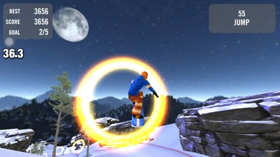 Crazy Snowboard screenshot1