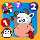 赤ちゃんの数学&ナンバーゲーム : いろいろな言語で数える icon