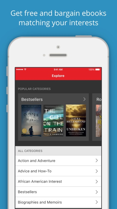 Bookbub by pubmark inc 12 app in ebooks reader books also best 10 ebook apps fandeluxe Image collections