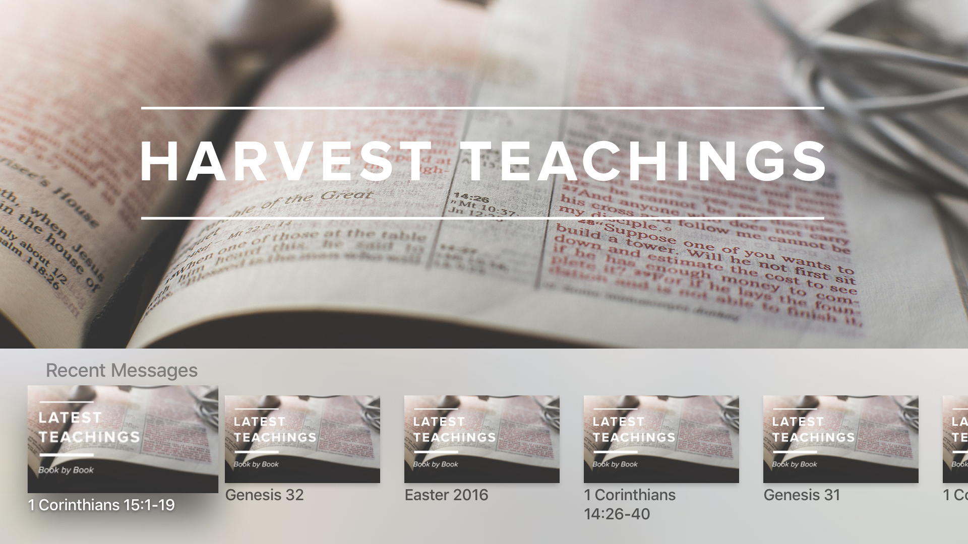 Harvest Fellowship App screenshot 8