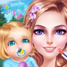 Activities of Stylish Mom's Life: Dress Up, Make Up & Baby Care Fun