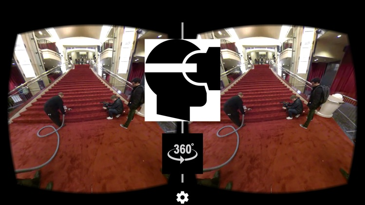 VR Virtual Reality press360 Hollywood Red Carpet setup screenshot-0