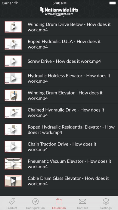 download Nationwide Lifts Elevator Guide - best selection of home and commercial elevators. apps 1