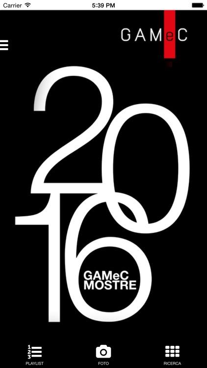 GAMeC MOSTRE 2016