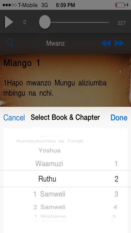 Swahili Audio Bible +