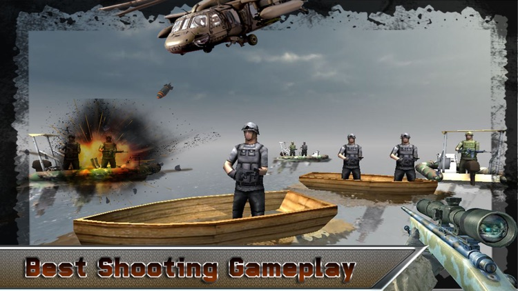 SNIPER ARMY SHOOTER MISSION screenshot-3