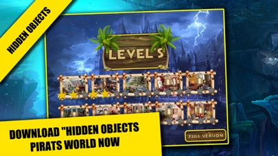 Pirates World Hidden objects adventure game : Search and Find objects screenshot two