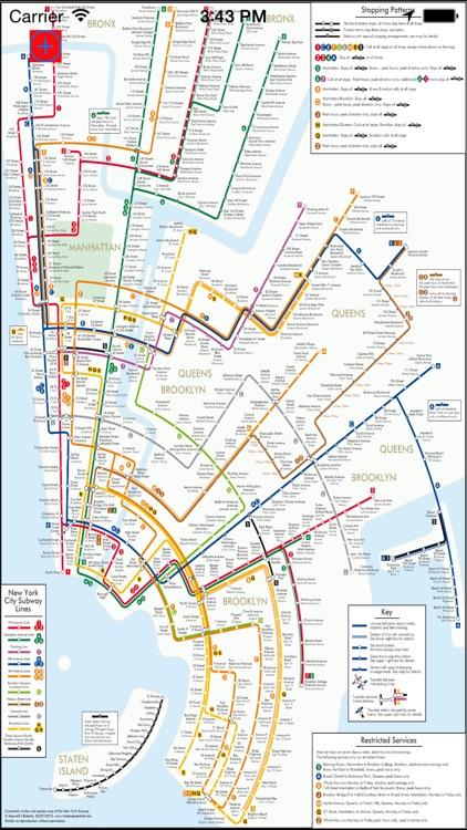 me 2 subway New York City screenshot-3