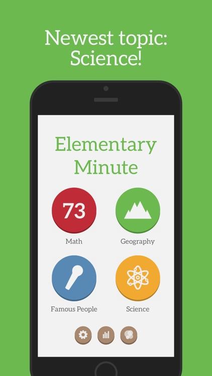 Elementary Minute screenshot-0
