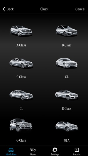Mercedes benz guides on the app store fandeluxe