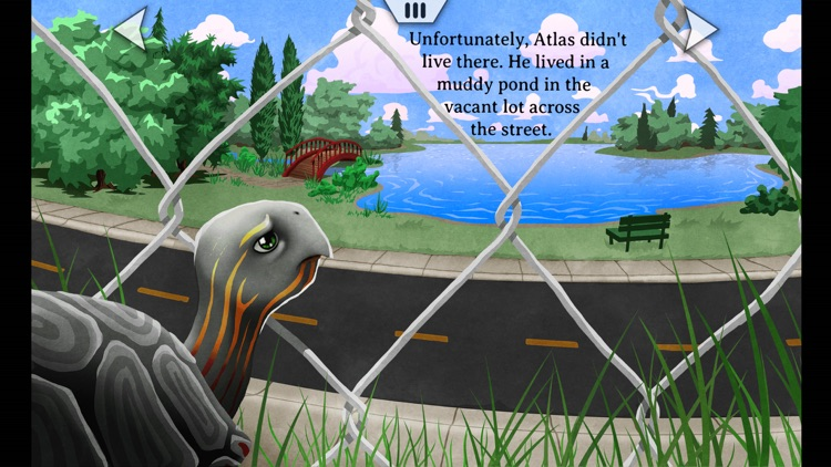 Turtle Crossing - An Animated, Interactive Storybook App