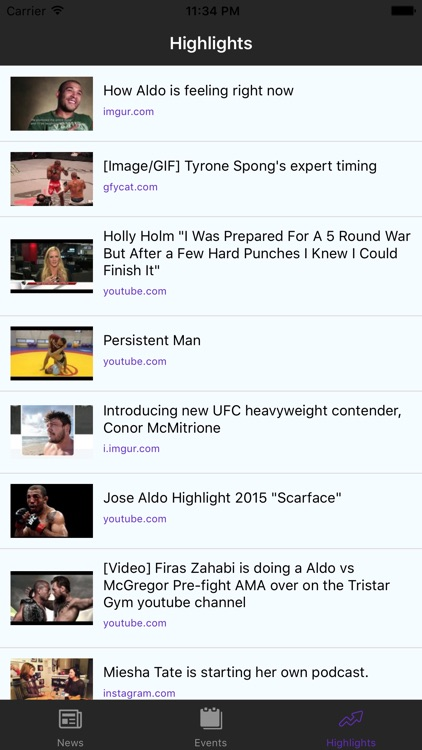 MMA Wire screenshot-3