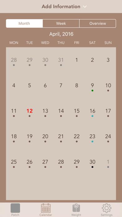 MyPatch - Birth control patch screenshot three