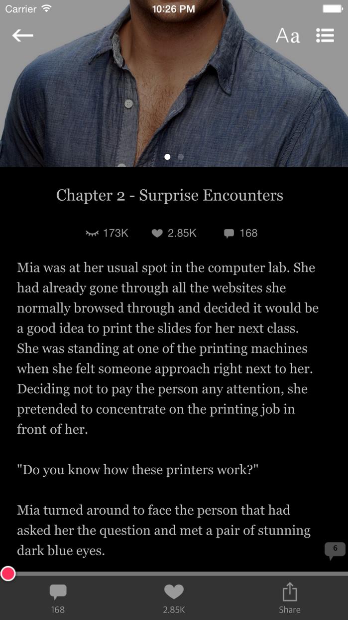After Dark - Download free books - adult romance Screenshot