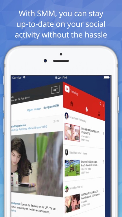 Socialize - Access all your social networking services in one app