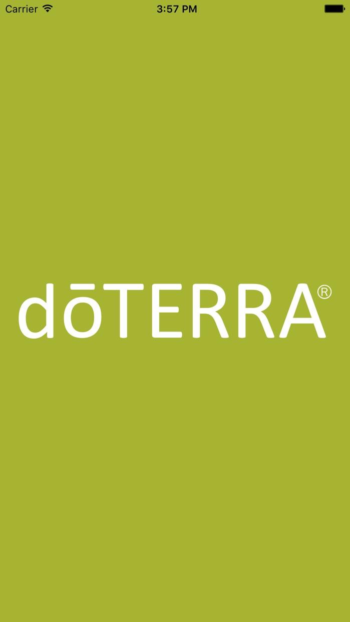 doTERRA Daily Drop Screenshot